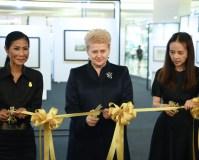 Prezidentė Bankoke atidarė Lietuvos dailininkų darbų parodą