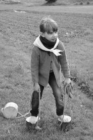 Žaidimams pagamintas medines vaikštynes pirmiausia išbandė vaikai