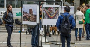 Skandinavijos lietuvių surengta Lietuvos šimtmečio paroda atkeliauja į Vilnių