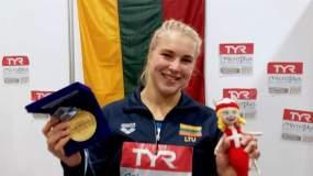 R. Meilutytė Europos čempionate iškovojo antrąjį aukso medalį