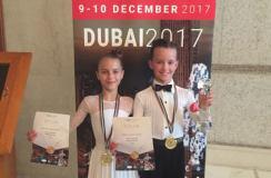 Devynmečiai šokėjai Lietuvai parvežė Pasaulio taurę