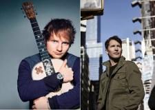 Kas sieja atlikėjus Jamesą Bluntą ir Edą Sheeraną?