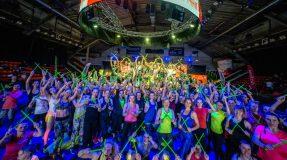 Šimtai sporto mėgėjų drebino Kauno sporto halę