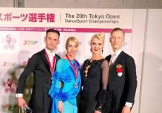 Lietuvos šokėjams – aukso ir sidabro medaliai iš tarptautinių varžybų Japonijoje