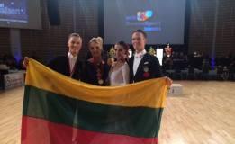 Šokėjai E. Sodeika ir I. Žukauskaitė Suomijoje laimėjo prestižinių varžybų sidabrą