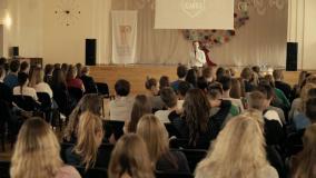 Vaizdo klipas apie šalies regionus – moksleivių dovana Lietuvai