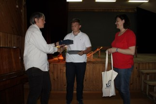 Apdovanojamas Martynas Jonas Buzys