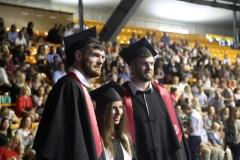 LSU diplomų įteikimo šventė su garsiais krepšininkais, meilės prisipažinimais ir jaunatviška nuotaika