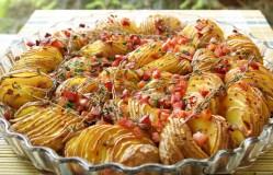 Traškios bulvytės su kumpiu