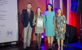 Apdovanota 70 gabių ir talentingų Lietuvos moksleivių
