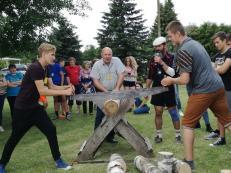 Bendruomenės sporto šventė A. A. Rinkūnų sodyboje