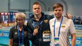 Plaukikas Danas Rapšys tapo pasaulio čempionu