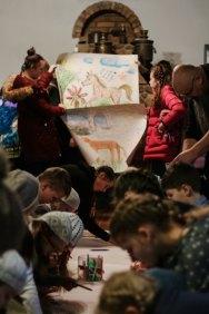 Anykščių r. šeimos ir vaiko gerovės centro auklėtinių piešiniai
