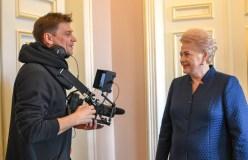 Naujo D. Ulvydo filmo pagrindinė herojė – Prezidentė Dalia Grybauskaitė