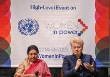 Aukšto lygio Jungtinių Tautų diskusijoje – moterų lyderystės klausimai