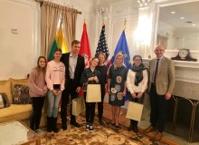 Vašingtone surengta Lietuvių kalbos šventė