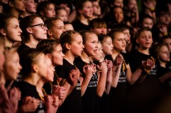 Du šimtus vaikų vienijantis choras Vilniuje išdainuos Lietuvos istoriją