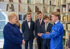 Jauniesiems Lietuvos išradėjams – išskirtinis šalies vadovės dėmesys