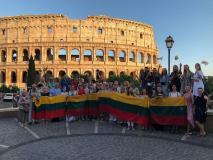 Lietuvių kultūros ambasadoriai Italijoje
