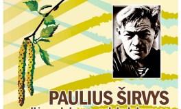 Vilniuje – renginys poetui Pauliui Širviui atminti