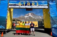 Baltijos kelio 30-metį JAV lietuviai paminėjo estafečių varžybose Oregone
