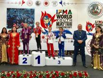 Lietuvai – pasaulio vaikų ir jaunimo muai tai čempionato sidabras bei bronza