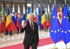 """Prezidentas G. Nausėda: """"Brexito"""" susitarime yra tai, ko tikėjomės"""""""