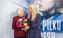 Filmo ir knygos heroje tapusi 91 metų Irena Saulutė – viena iš vyriausių darbuotojų Lietuvoje