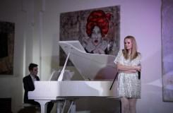 Vilniečiai rinkosi į elegantišką Marijos Akelan muzikinį vakarą