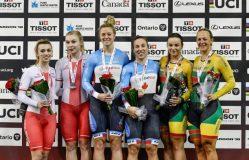 Lietuvos dviratininkėms – pasaulio taurės varžybų bronza