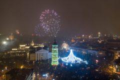 Šventiniu laikotarpiu Vilnių aplankė daugiau nei 76 tūkst. užsienio svečių
