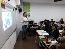 V. Kavaliauskaitės praktika Argentinoje: nuo lietuvių kalbos pamokų iki žemaitiškų blynų kordobiečiams
