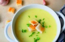 Austriška česnakų sriuba