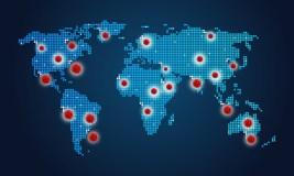 COVID-19 paveiktų šalių sąrašas ilgės