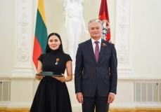 Už nuopelnus Lietuvai – valstybiniai apdovanojimai iš Prezidento rankų
