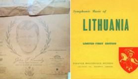 Lietuvių emigrantų patriotizmą primena pirmoji JAV išleista lietuviška vinilinė plokštelė