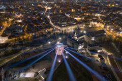 Trečiajame Vilniaus šviesų festivalyje – dvi dešimtys instaliacijų