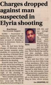 Kenneth Lieux Attorney Elyria Ohio Lorain County case verdicts
