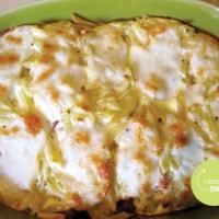 Foodblogswap: Turks getinte ovenschotel met pasta, gehakt en courgette