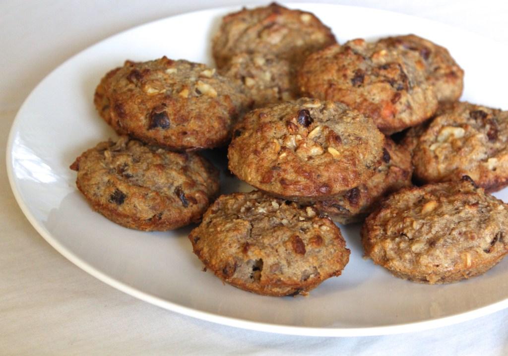 Healthy Breakfast Muffins (gluten-free, sugar-free, dairy-free)