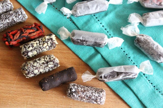2 Ingredient Healthy Chocolate Candy