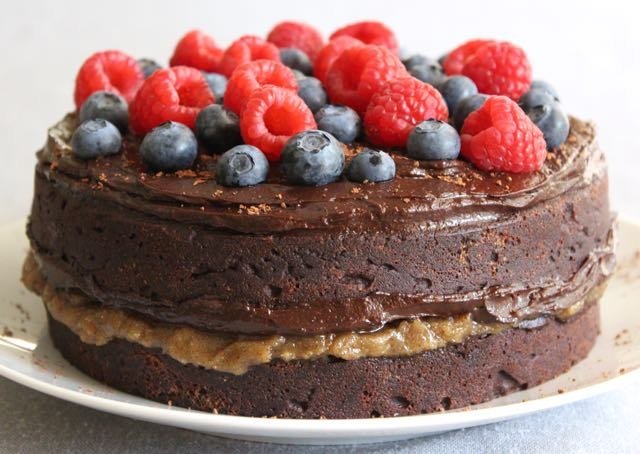 The Best Grain-free Chocolate Cake (gluten-free, dairy-free, sugar-free)