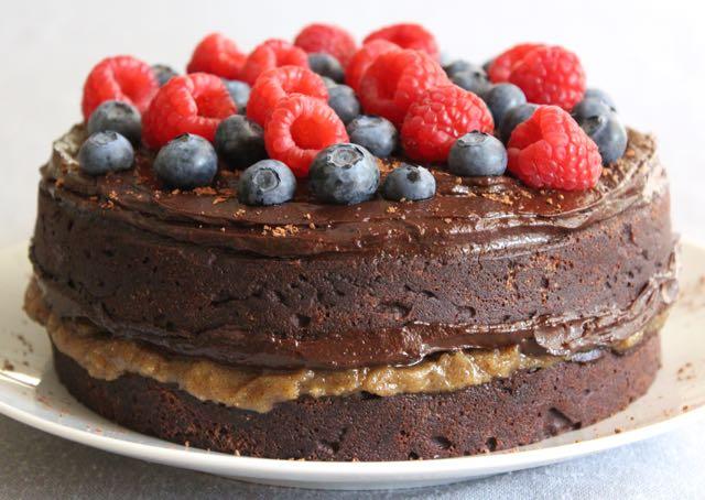 The Best Grain-free Chocolate Cake (gluten-free, dairy-free, sugar-free)