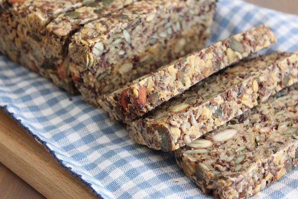 Overnight Oat, Nut & Seed Bread (gluten-free)