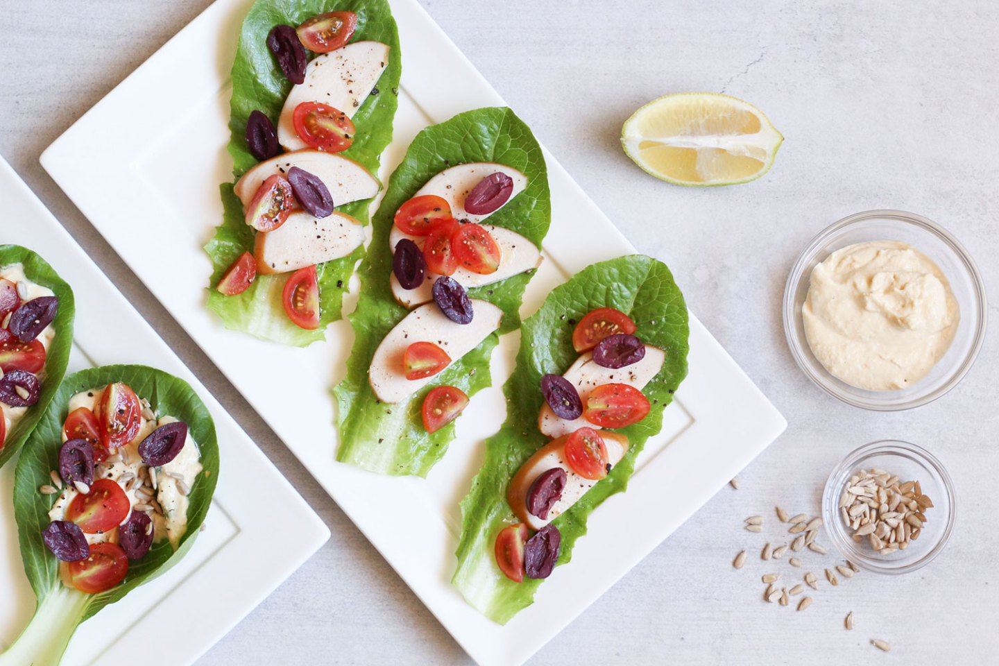 How To Make Salad Wraps (Easy Lunch Idea)