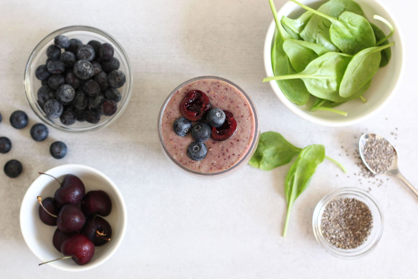 My Easy Everyday Smoothie (dairy-free, sugar-free)