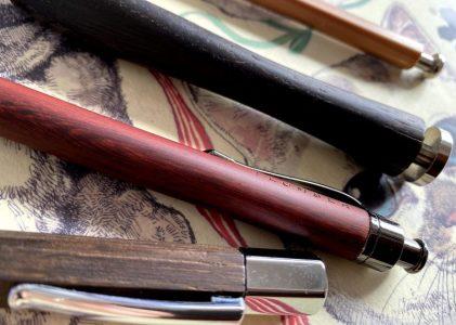 木軸ペンシル
