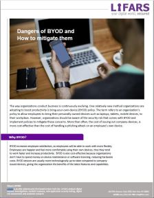 Dangers of BYOD and  How to mitigate them