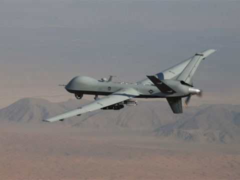 MQ-9 drone- Sensitive U.S. Air Force Drone Documents Leaked on the Dark Web