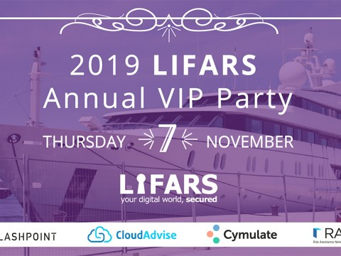 Friends, it is been a great year - Join us for 2019 LIFARS Annual VIP Party